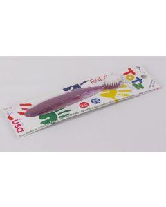 Radius Totz Toothbrush, Extra Soft, 18+ Months, Purple