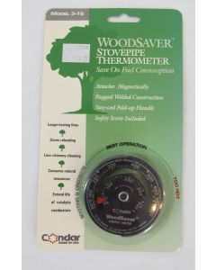 Condar Woodsaver Stovepipe Thermometer