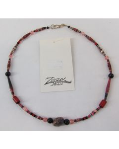 Zendik Arts Foundation Eco Bead Necklace