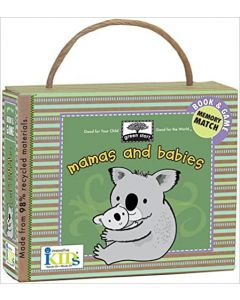 Green Start: mamas & babies 10 page book & 20 piece memory game