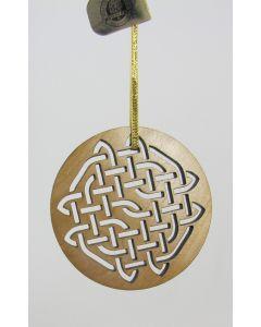 Maple Landmark Ornament-Solace Celtic Knot