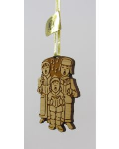Maple Landmark Ornament-Carolers