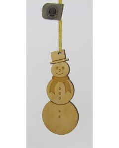 Maple Landmark Ornament-Snowman