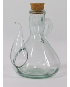 Hand Blown Cruet w/spout