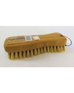 Lola Natural Fiber Tampico Scrub Brush, Bamboo Handle