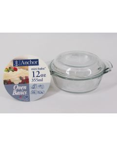 "Anchor Hocking ""Mini Bake"" Baking Dish w/lid"