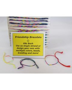 Oba Oba Multi-colored Friendship Bracelet