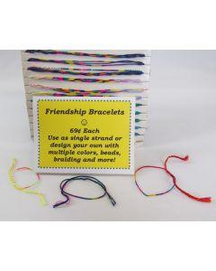 Oba Oba Multi-colored Friendship Bracelet