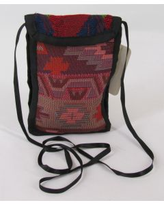 Small Purse-Orange Brown front, Red Green back