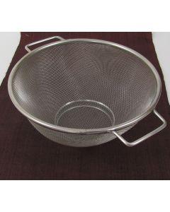 "Colander Strainer Basket, 9"" diameter"