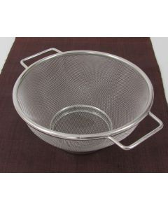 "Colander Strainer Basket, 8"" diameter"