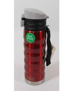 OGGI Sports Bottle, 17 oz - Red