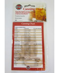 """Norpro Canning Equivalents Magnet, 3.5""""x5"""""""