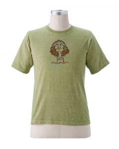 "Earth Creations T-Shirt ""Kiss The Earth"", Jade"