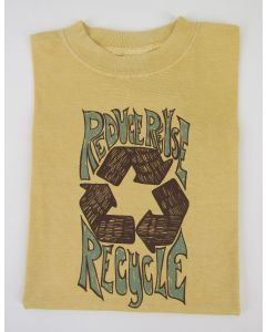 "Earth Creations Short Sleeve T-Shirt ""Recycle Symbol"""