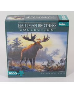Buffalo Games Jigsaw Northwoods Moose