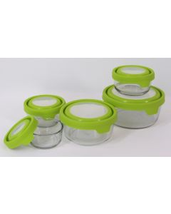 Anchor Hocking Storage Bowl Set w/TrueSeal lids, 10 pc