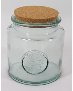 """Authentic"" Storage Jar w/cork lid"