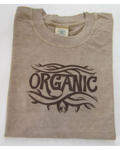 "Earth Creations T-Shirt ""Organic Tattoo"", Ash, Medium"