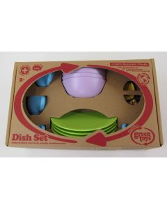Green Toys Dish Set, 24 pc