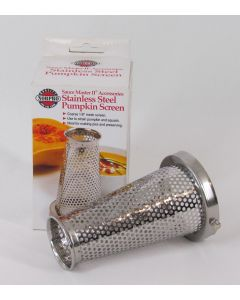Sauce Master II Pumpkin Screen Attachment, Stainless Steel