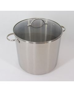 Endurance 16 Qt Stock Pot, Stainless Steel