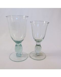 Tall Glass Wine & Water Goblets 8 & 14 oz