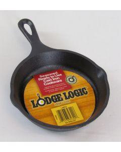 """Lodge Logic Cast Iron Mini Skillet, 5"""""""