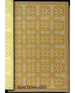 Mad Mats Rugs 6' x 9', Clover, Gold/Ochre