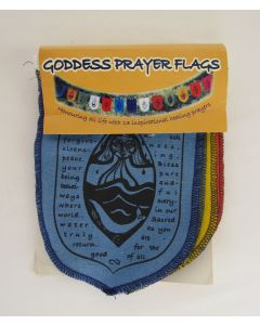 Wild Earth Goddess Mini Prayer Flags