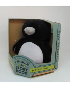 Green Start Little Penguin Toy & Book
