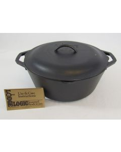 Lodge Cast Iron Dutch Oven w/Lid – 7 qt