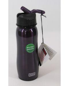 OGGI Sport Bottle w/Flip Spout, Purple, 26 oz