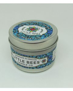 Little Bees Candle Travel Candle in Tin