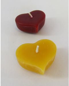 Little Bees Floating Heart Candle