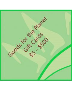 Goods for the Planet Gift Card