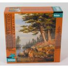 Buffalo Games Jigsaw - 1000 pc - Deer & Pines